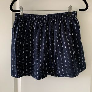 ❤️ J Crew Anchor Mini Skirt
